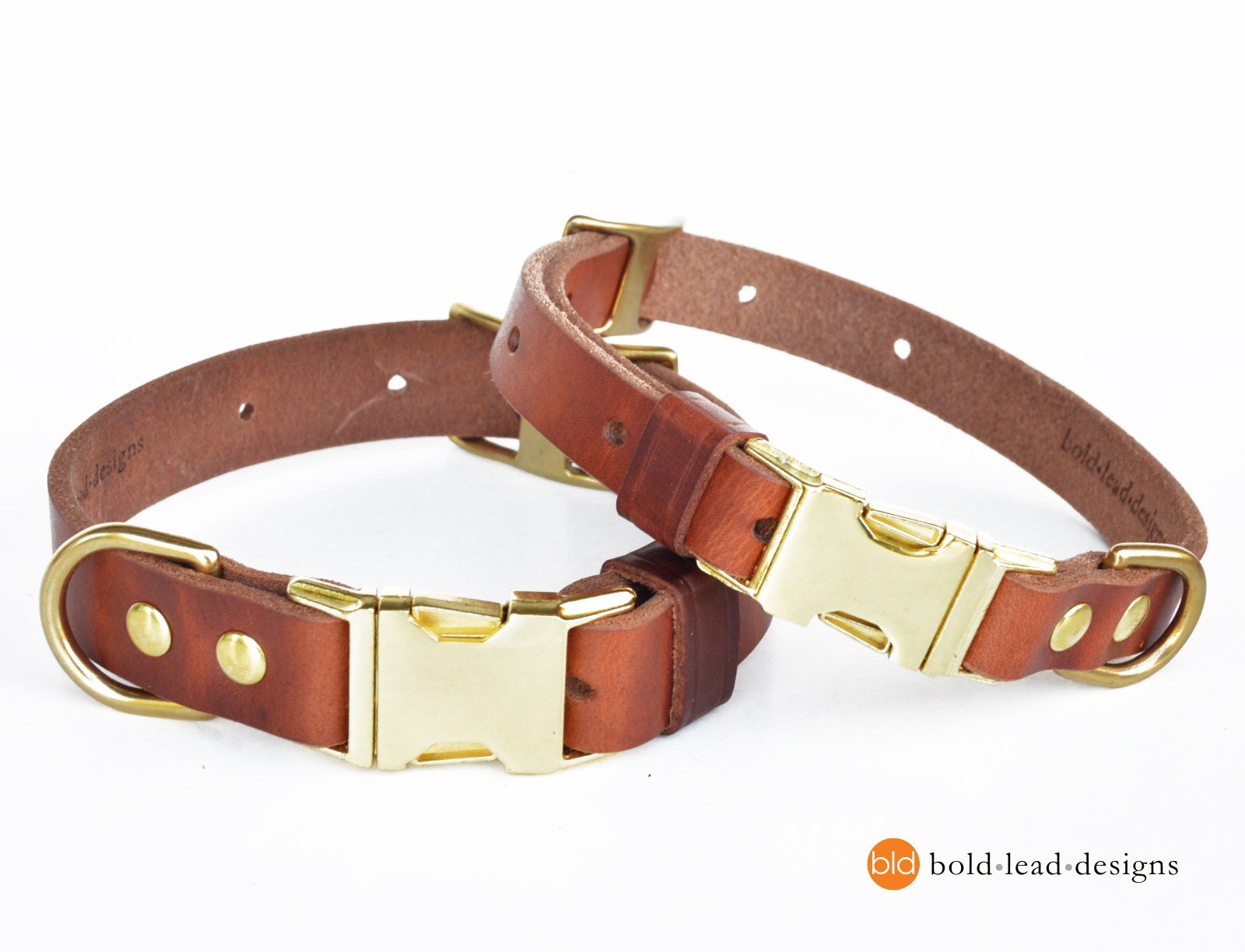 Metal Side Release Buckle Dog Collars