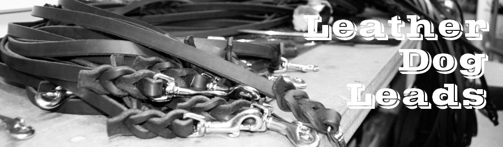 Leather Dog Leads, Leashes