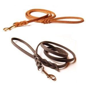 Traditional Leather Dog Leashes by BLD