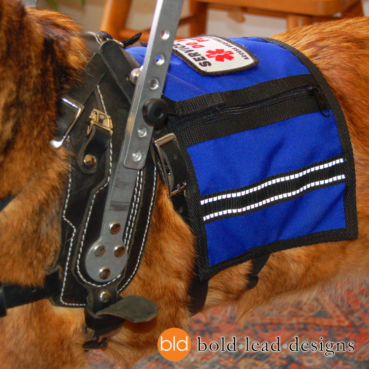 Cape Vest For Bld Harness