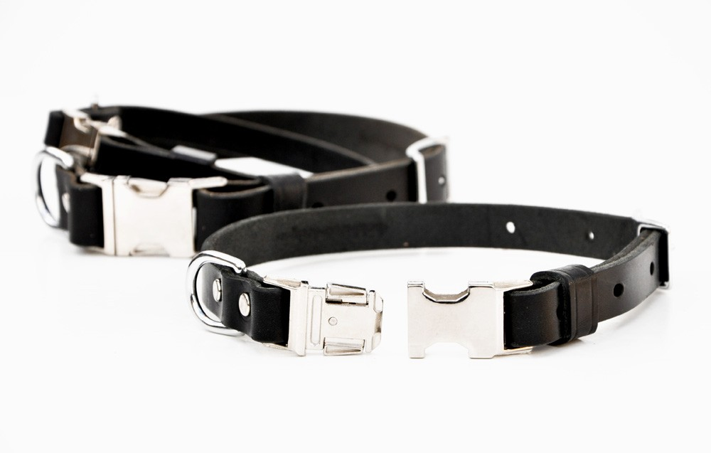 Quick Release Dog Collars Leather
