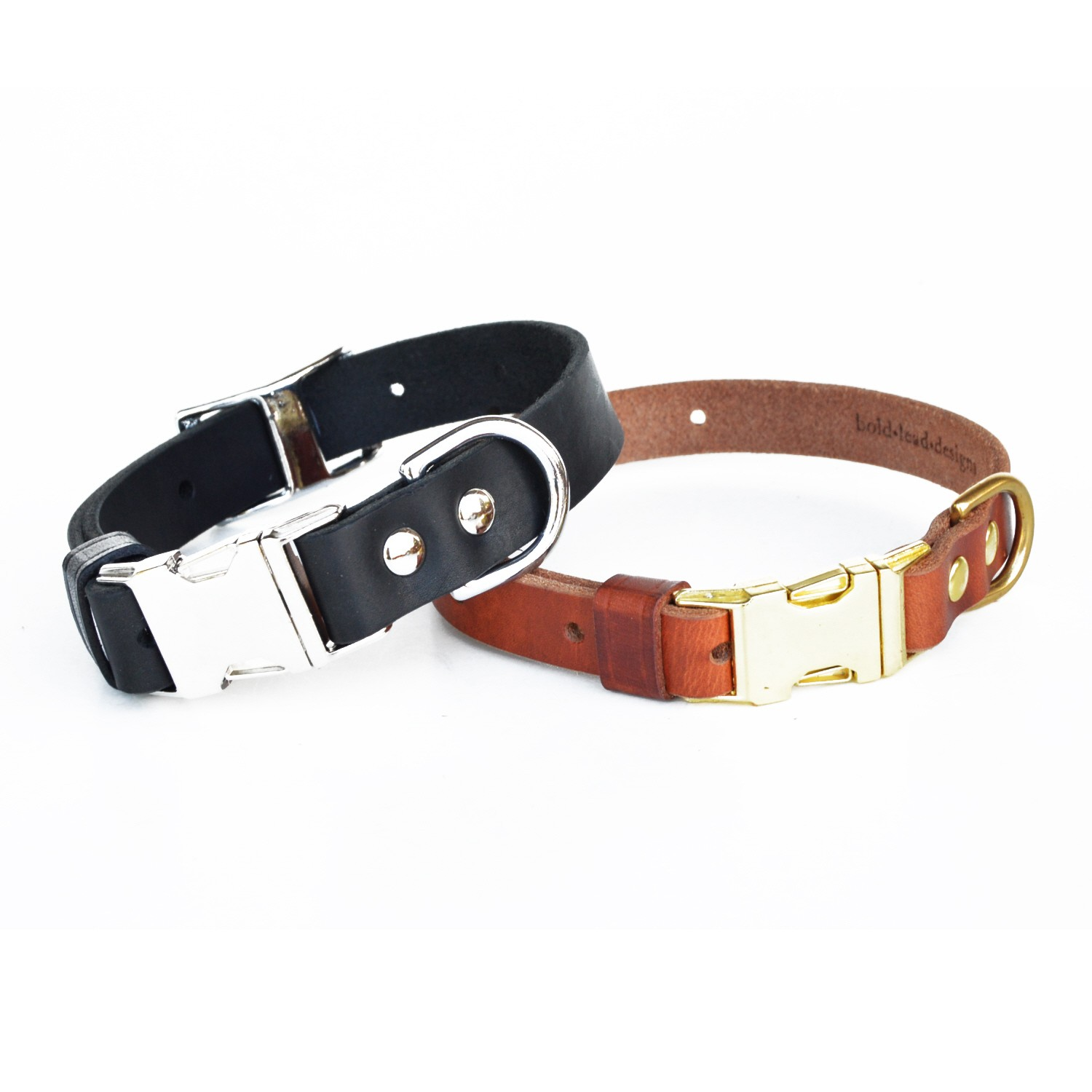 Leather Buckle Dog Collar