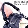 BAH detachable handle lays flat