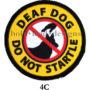 4C Deaf Dog Do Not Startle S 2812