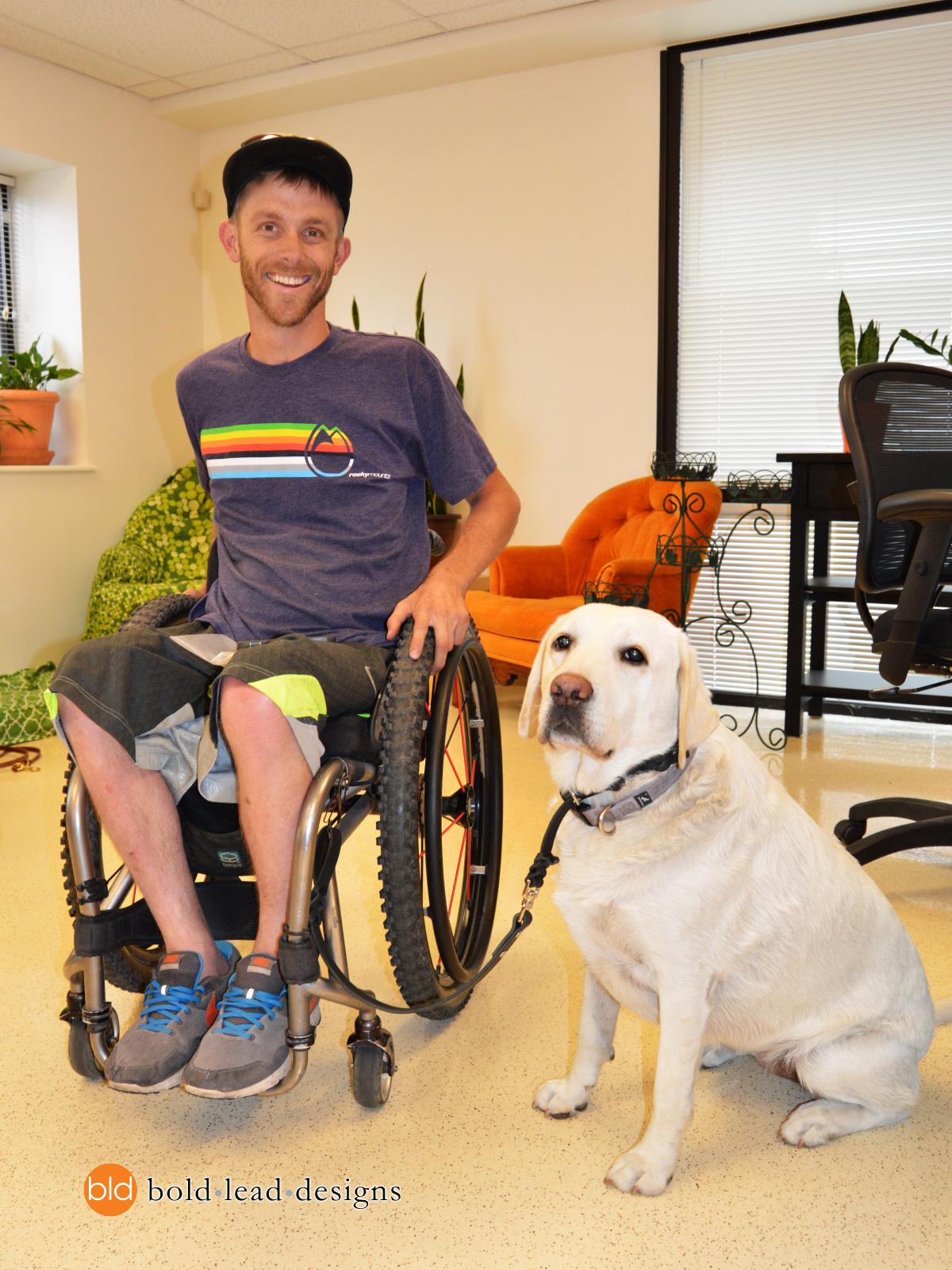 Adaptive dog leash