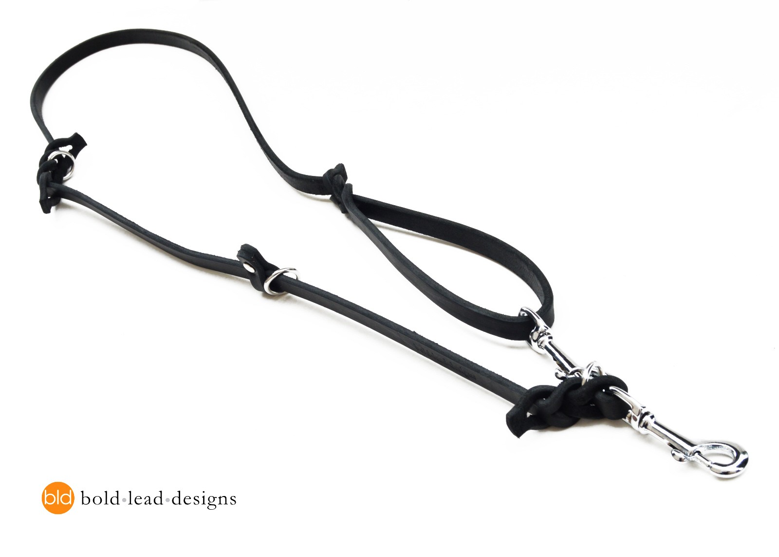 The Working Dog Lead 5 Ft Leather Euro Leash