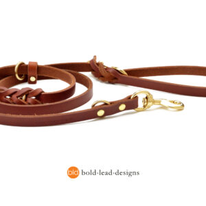Working Dog Lead tan large_2860