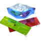 BLD Zip Water Bowl in metalic red, green, and blue 4144