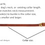 Collar size diagram