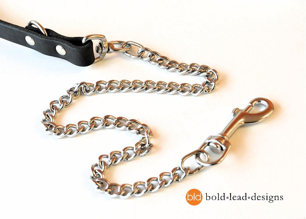 Chain and Brahma 8-Way Lead™ - chew resistant Multi ...